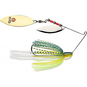 Strike King KVD Finesse Spinnerbait 3/8oz Chartreuse Sexy Shad