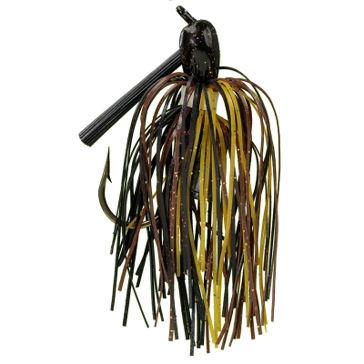 Strike King Ratlin Pro-Model Jig 3/8 oz Black/Brown/Amber Lure
