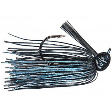 Strike King Premier Pro-Model Jig 3/8 oz Black/Blue Lure