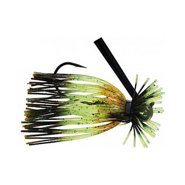 Strike King Tour Grade Finesse Football Jig 3/8oz Mizzou Craw