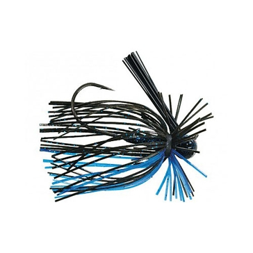 Strike King Tour Grade Finesse Football Jig 3/8oz Black/Blue