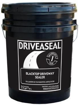 Driveseal Blacktop Driveway Sealer - 5 Gallon