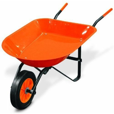 Truper Kids Garden Wheelbarrow - 1 Cubic Foot