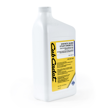 Cub Cadet 10W40 UTV Oil 1 Quart