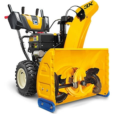 Cub Cadet Three Stage 3X 28 Snow Blower with Electric Start
