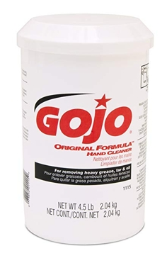 GOJO® ORIGINAL FORMULA™ Hand Cleaner 4.5lb Plastic Can 1115-06