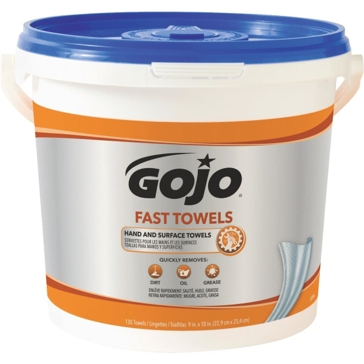 GOJO® Fast Towels 130 Count Bucket