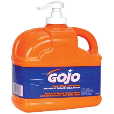GOJO® NATURAL* ORANGE™ Pumice Hand Cleaner 1 Gallon Jug 0955-02
