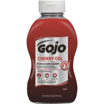 GOJO® Cherry Gel Pumice Hand Cleaner 10oz Squeeze Bottle 2354-08