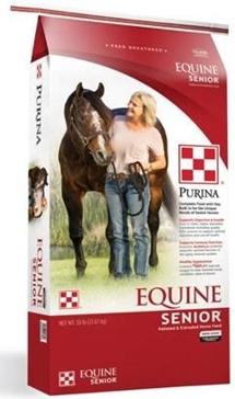 Purina Equine Senior Horse Feed 50lb