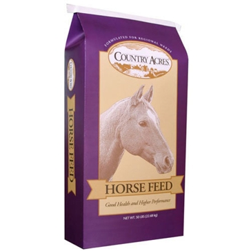 Country Acres Horse Sweet 12% Feed 50lb