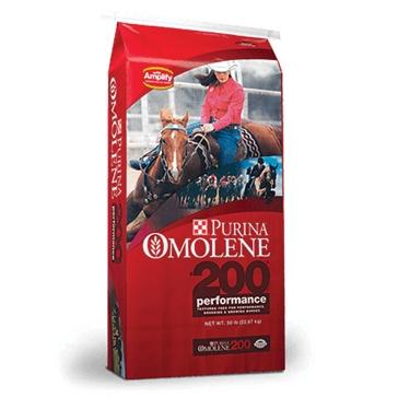 Purina Omolene 200 Performance Horse Feed 50lb