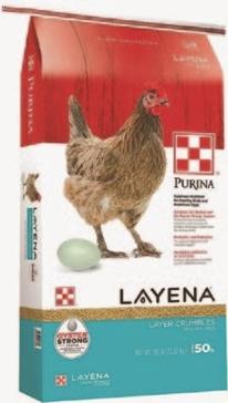 Purina Layena Crumbles 50lb