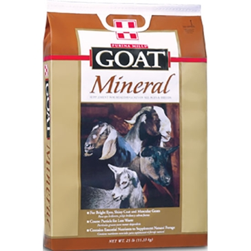 Purina Goat Chow Mineral 25lb