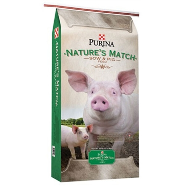 Purina Nature's Match Sow & Pig Complete 50lb