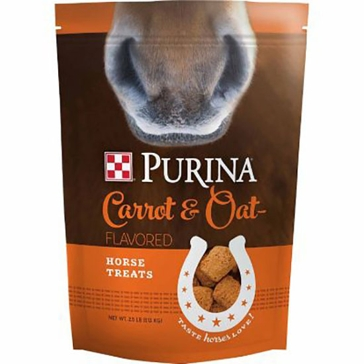 Purina Carrot & Oat-Flavored Horse Treats 2.5lb