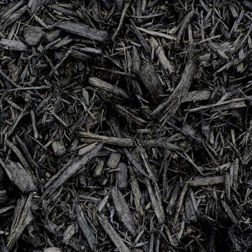 Pine Mulch Radiant Black Color