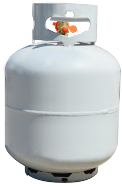 New Filled Propane Tank