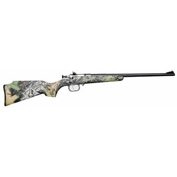 """Crickett .22LR 16-1/8"""" Mossy Oak Synthetic Blued Rifle"""