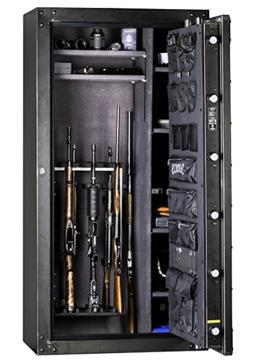 Rhino gun safe inside