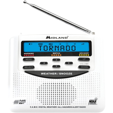 Midland - WR120B - NOAA Emergency Weather Alert Radio