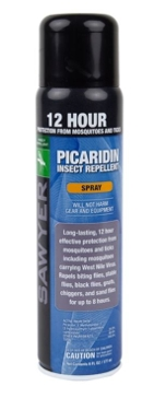 Sawyer Products Insect Repellent 20% Picaridin - 6 oz Continuous Spray
