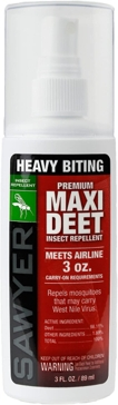 Sawyer Products Premium MAXI DEET, 100% DEET Insect Repellent, 3 oz