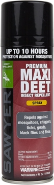 Sawyer Products Premium MAXI DEET, 100% DEET Insect Repellent