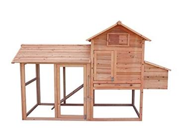 """Chicken Coop 64.5"""" x 25"""" x 52"""" YTF-300CC"""