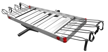 Aluminum Cargo Carrier w/Bike Rack TTF-2762ACBR