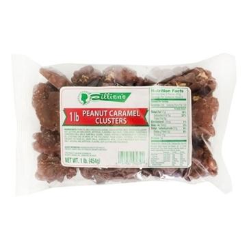 Eillien's Peanut Caramel Clusters 1 lb bag