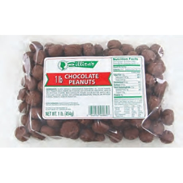 Eillien's Chocolate Covered Peanuts 1 lb. bag