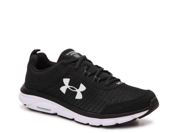 Women's Under Armour Charged Assert 8 - Black- 3021972-004