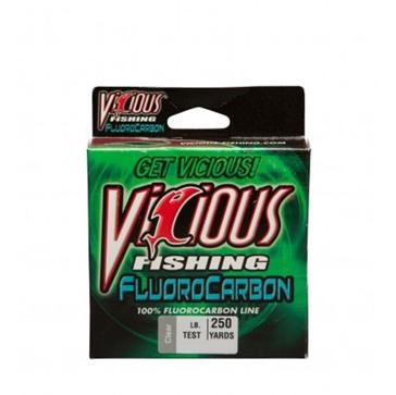 Vicious Fluorocarbon 4lb Fishing Line 250 Yard Spool