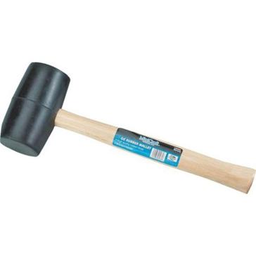Mintcraft Wood Handle 16oz Rubber Mallet