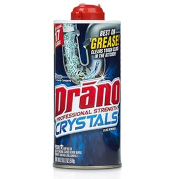 Drano Kitchen Crystals Clog Remover