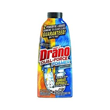 Drano Dual-Force Foamer Drain Clog Remover 202002