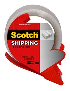 "Scotch Packaging Tape 2"" Clear Mailing Tape 142"