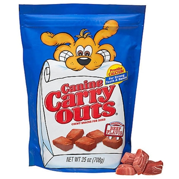 Canine Carry Outs Chewy Beef Dog Treats
