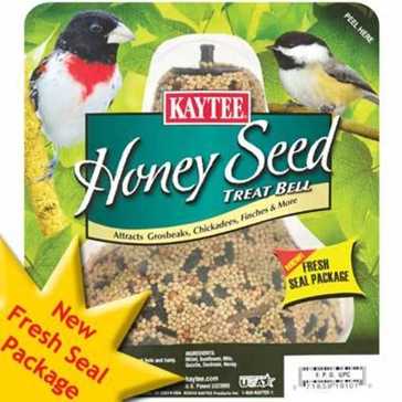 Kaytee Honey Seed Treat Bell 1lb