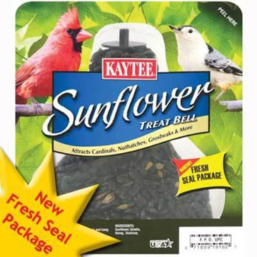 Kaytee Sunflower Seed Treat Bell 10oz