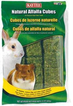 Kaytee 15 oz. Alfalfa Hay Cubes 100036884