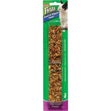 Kaytee 4.5 oz. Fiesta Fruit & Veggie Treat Stick Rabbit 100502609