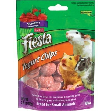 Kaytee 3.5 oz. Fiesta Strawberry Yogurt Chips 100037222
