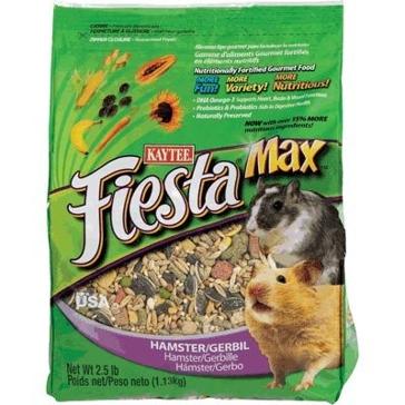 Kaytee 2.5 lb. Fiesta Max Hamster and Gerbil 100032294