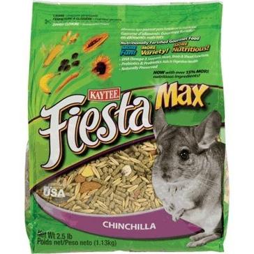 Kaytee 2.5 lb. Fiesta Max Chinchilla 100036934