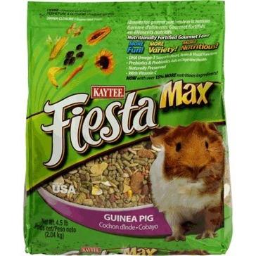 Kaytee 4.5 lb. Fiesta Max Guinea Pig 100037333