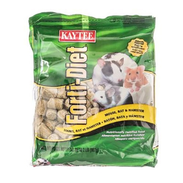 Kaytee Forti-Diet Mouse, Rat & Hamster Food 2lb 100037293