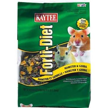 Kaytee Forti-Diet Hamster & Gerbil Food 3lb 100037313
