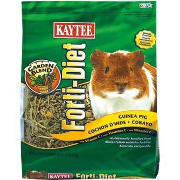 Kaytee Forti-Diet Guinea Pig Food w/ Vitamin C 5lb 100037174